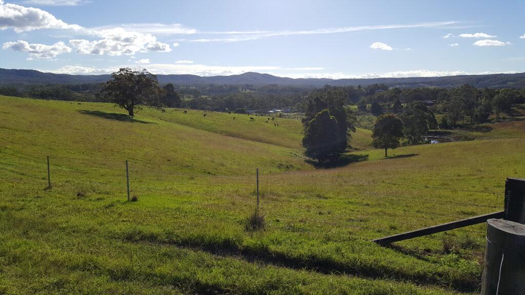 Wootton farmland