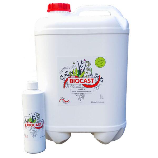 Biocast bottle