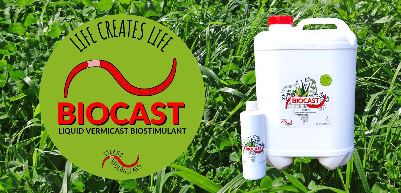Biocast liquid vermicast biostimulant