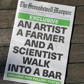 An Artist a Farmer and a Scientist Walk into a Bar