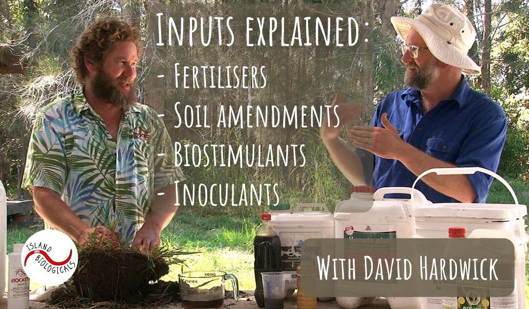 Inputs explained